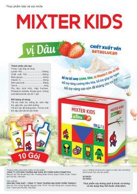 Thưc phẩm bảo vệ sức khỏe MIXTER KIDS